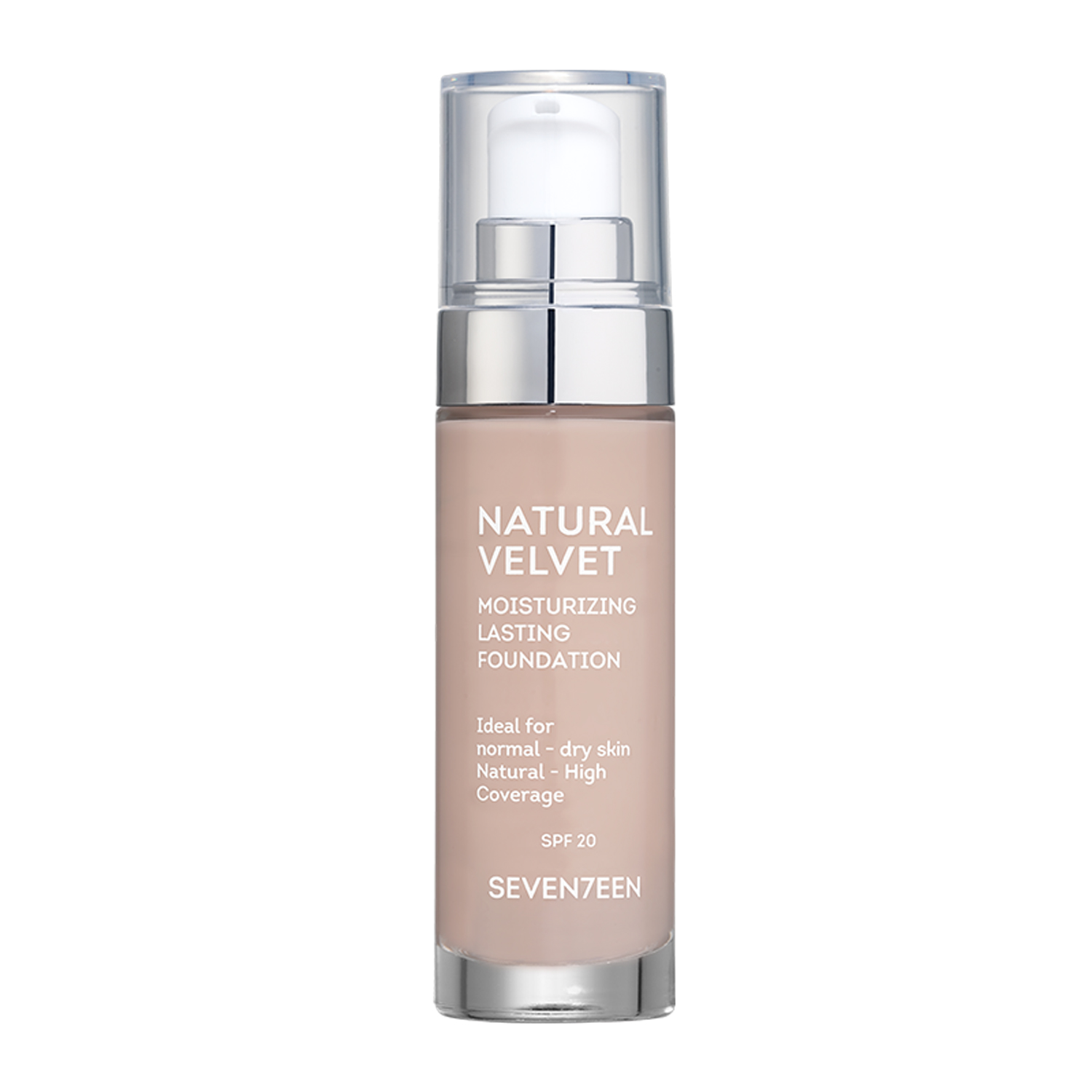Natural Velvet Longlasting Matte Foundation