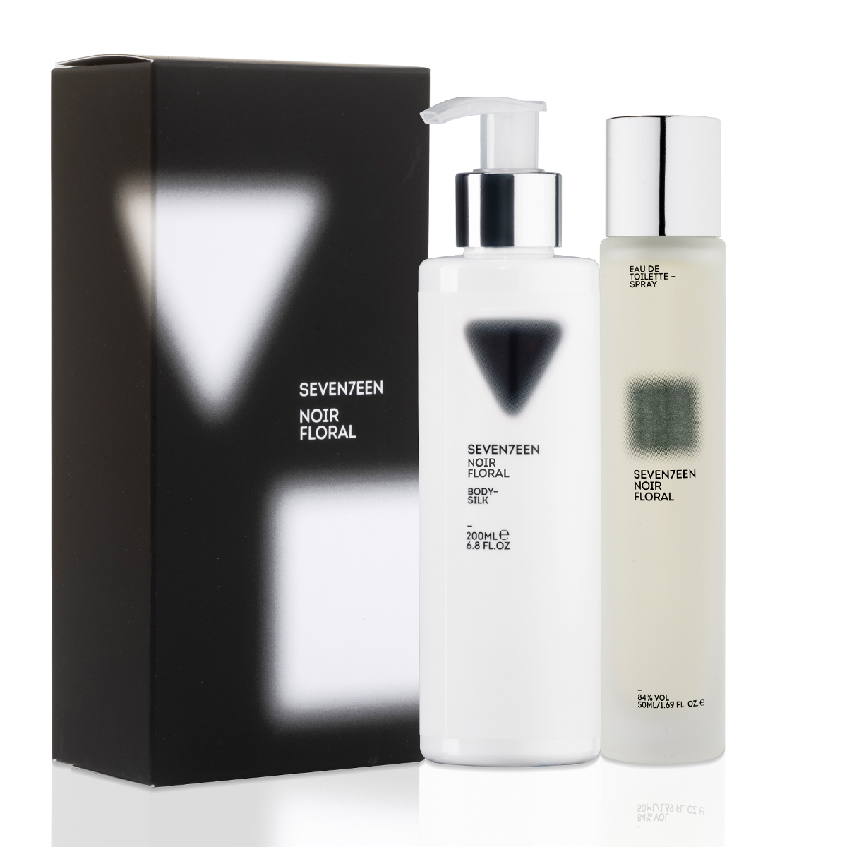 Noir Floral Set Body Silk 200ml & EDT 50ml