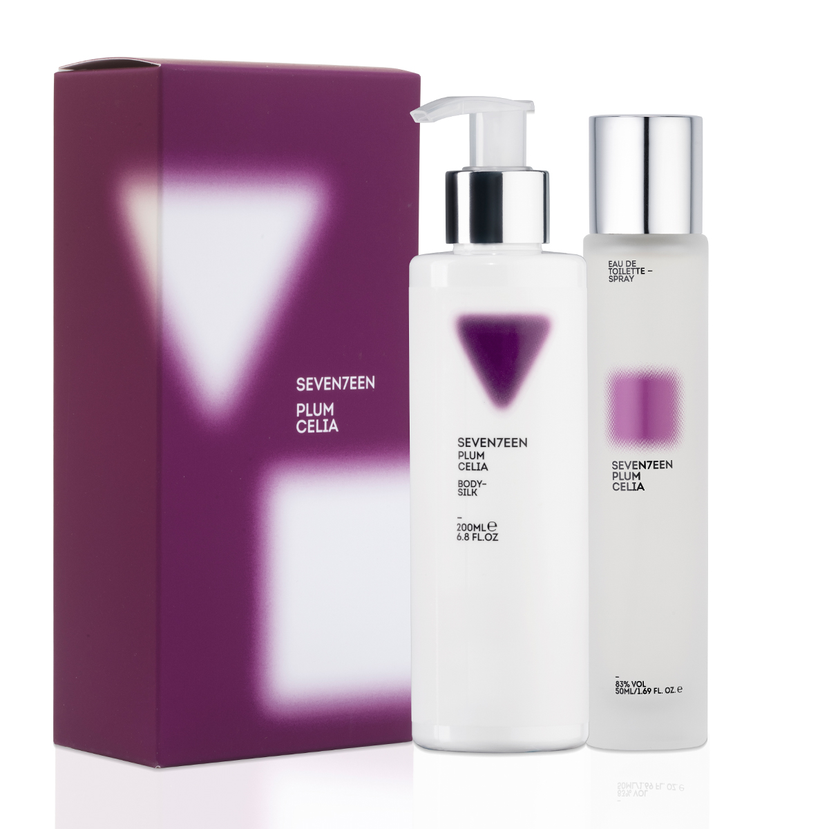 Plum Celia Set Body Silk 200ml & EDT 50ml